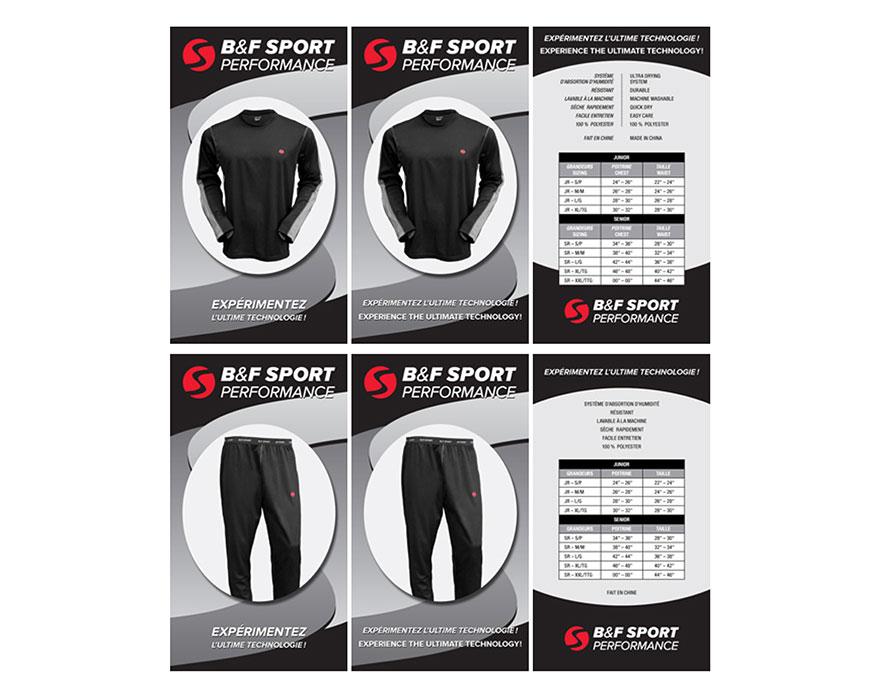 Catalogue B&F SPORT