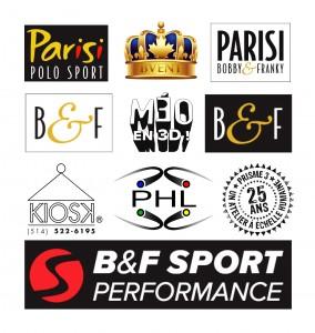 Plusieurs logos